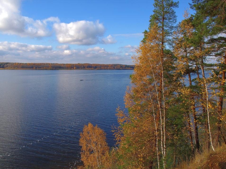 "фото ""октябрь на Волге"" метки: пейзаж, осень"