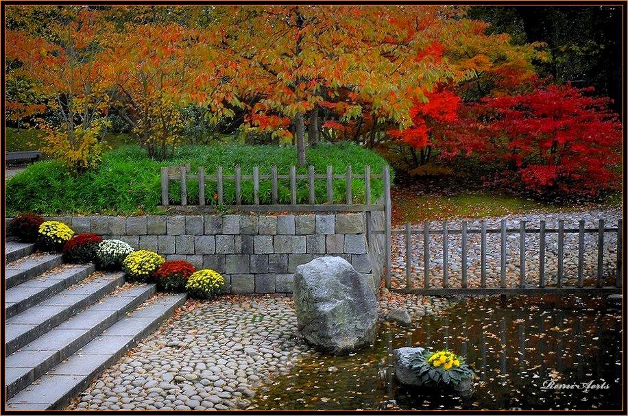 "фото ""Japanese garden 2"" метки: архитектура, пейзаж, осень"