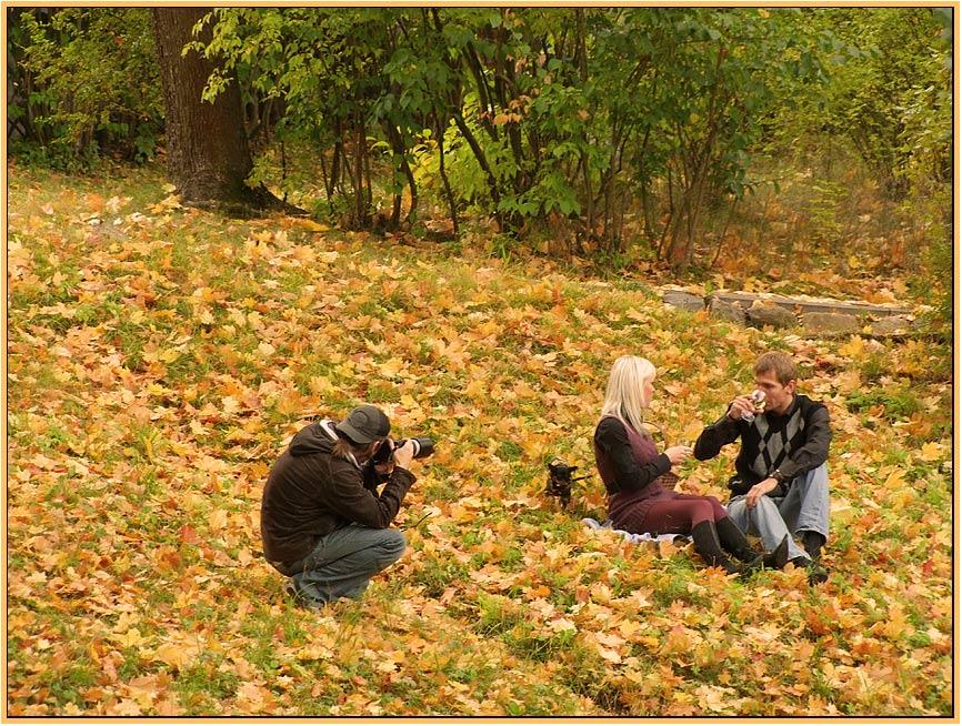 """фото """"Осенние этюды"""" метки: пейзаж, жанр, осень"""