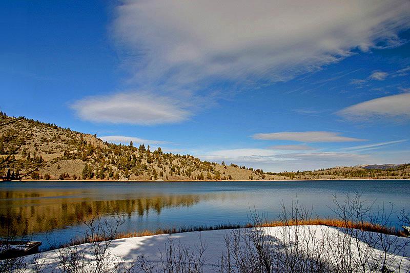 """фото """"When clouds came down"""" метки: пейзаж, вода"""