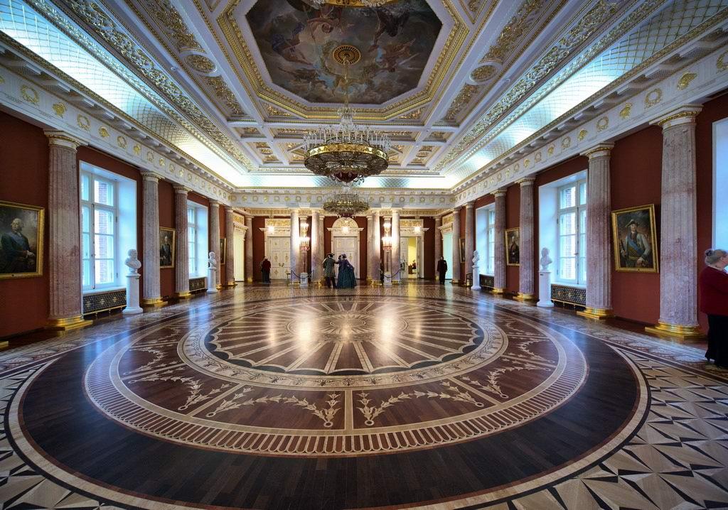 "фото ""Царицынский дворец. Таврический зал"" метки: город,"