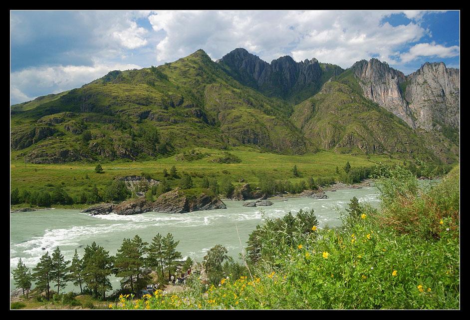 """фото """"По Чемальскому тракту"""" метки: пейзаж, вода, горы"""