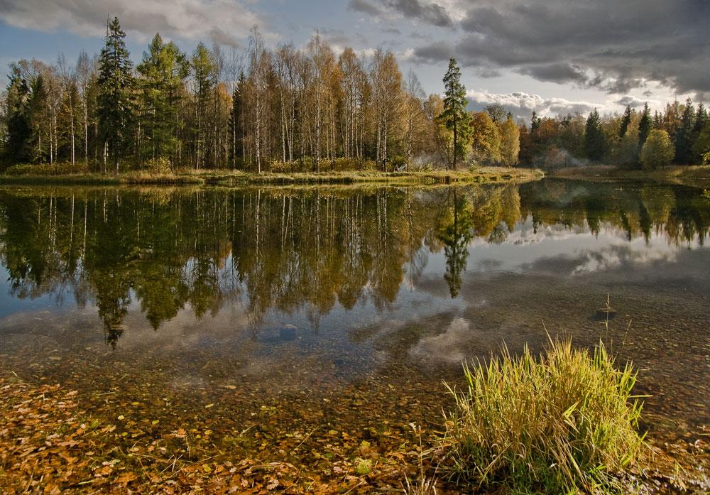 """фото """"Осенняя тишина"""" метки: пейзаж, вода, осень"""