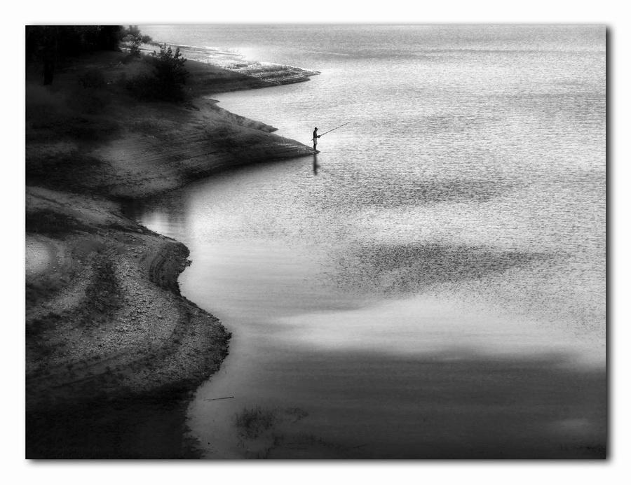 """фото """"The Fisherman"""" метки: пейзаж, вода"""