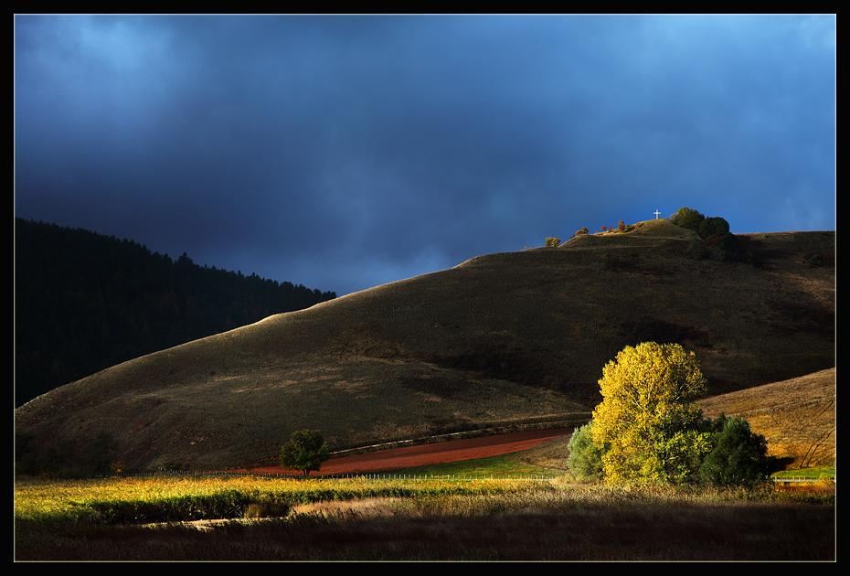 """фото """"Umbria's hills"""" метки: пейзаж,"""