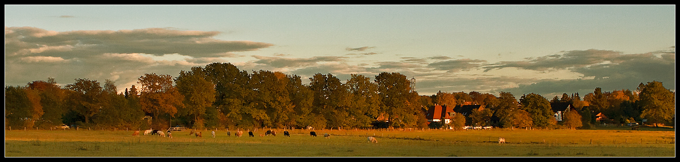"""фото """"Деревенская панорама"""" метки: пейзаж, путешествия, Европа, осень"""