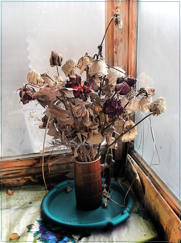 """фото """"сухие розы"""" метки: натюрморт, природа, цветы"""