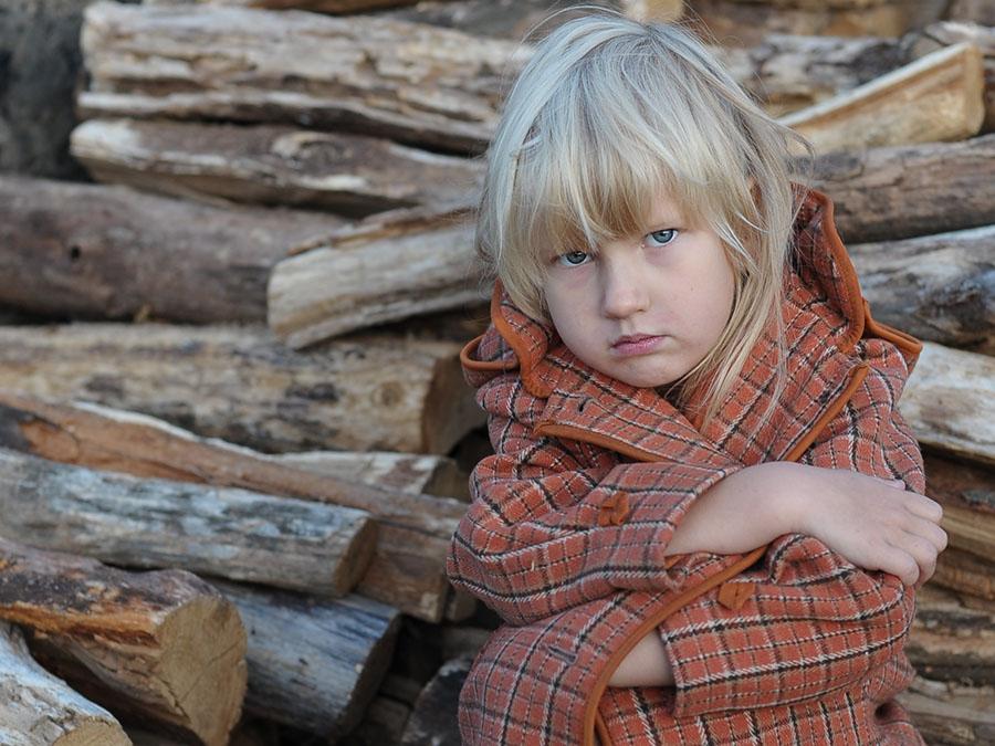 """фото """"Зябко"""" метки: портрет, жанр, дети"""