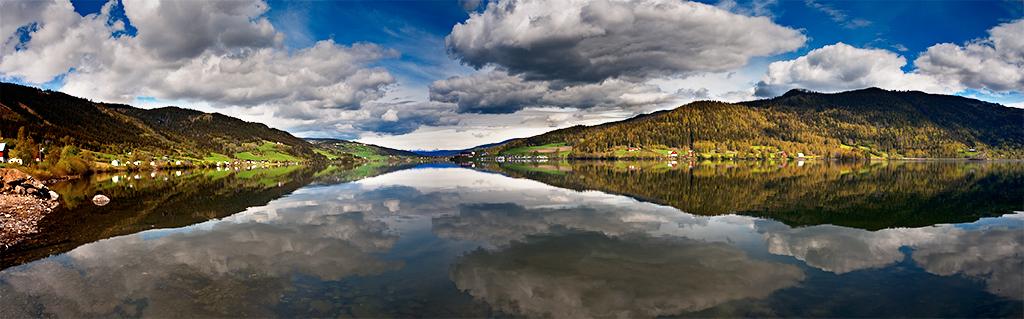 """фото """"Mirror of Norwegian Mountain...."""" метки: пейзаж, весна, вода"""