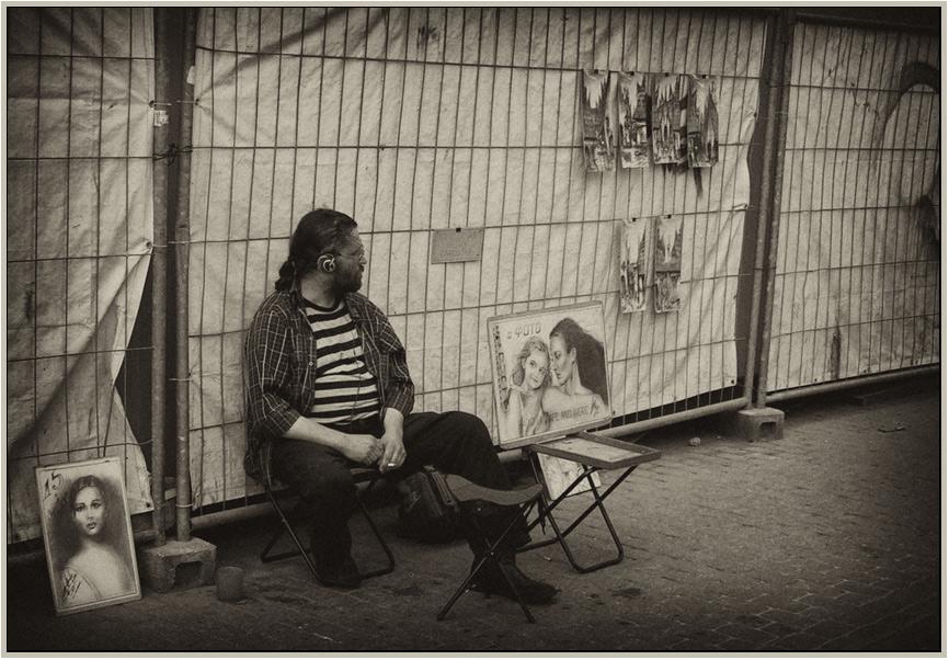 """фото """"Нарисуй меня художник."""" метки: жанр, черно-белые,"""