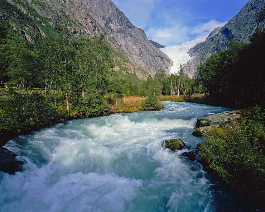"""фото """"Рождённая ледником"""" метки: пейзаж, вода, горы"""