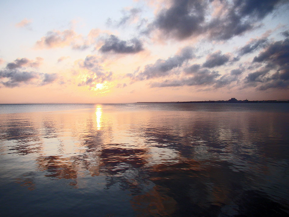"фото ""Поморийский закат"" метки: пейзаж, вода, закат"