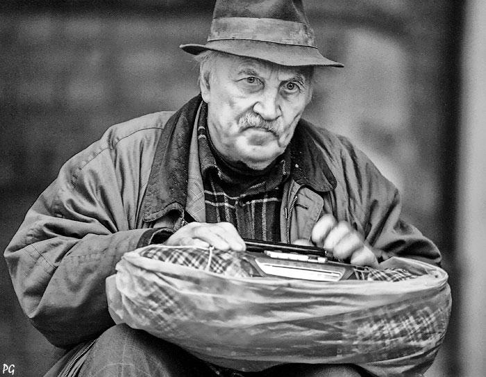 """фото """"коммунист."""" метки: портрет, мужчина"""