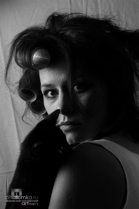 """фото """"**"""" метки: черно-белые, портрет, женщина"""