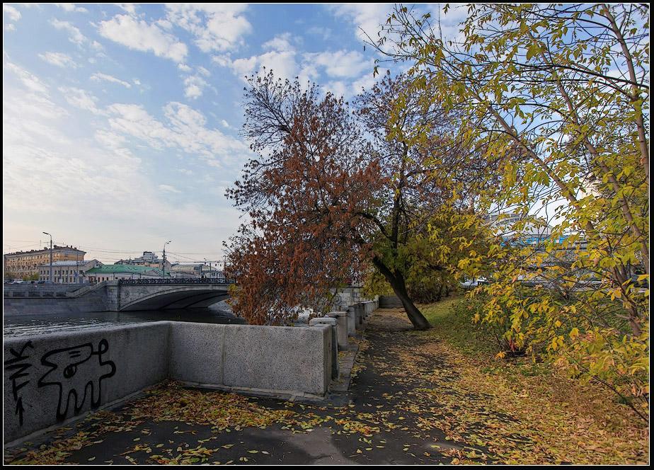 """фото """"Московская осень"""" метки: пейзаж, город, осень"""