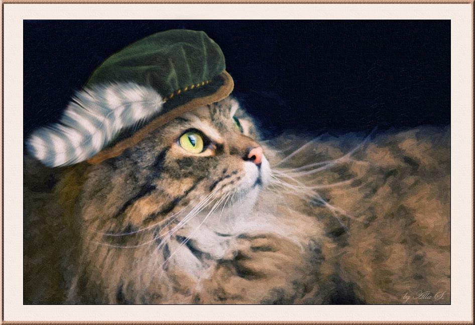 """фото """"Кот без сапог или вальяжный Тим )"""" метки: природа, юмор, домашние животные"""