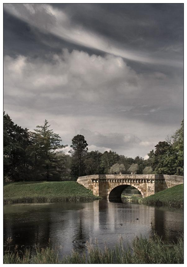 "фото ""Старый парк"" метки: архитектура, пейзаж,"