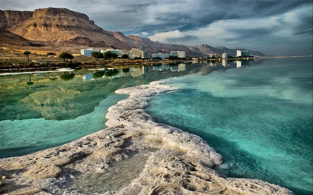 """фото """"Соляная коса Мёртвого моря"""" метки: пейзаж,"""