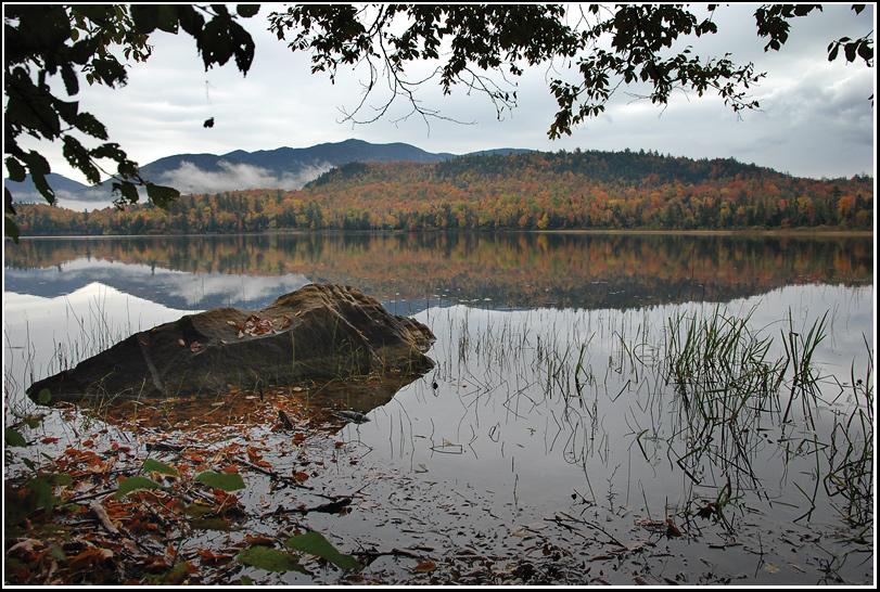 "фото ""Озеро..."" метки: пейзаж, вода, осень"