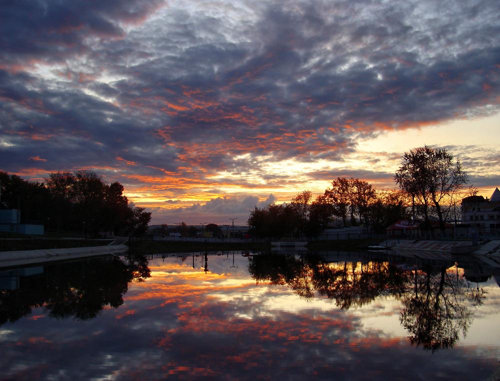 "фото ""*****"" метки: пейзаж, закат"
