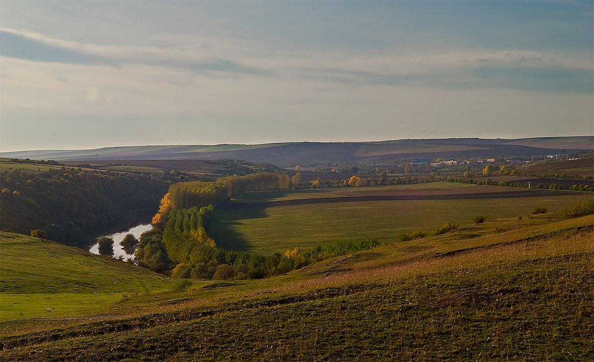"""фото """"Теплый простор"""" метки: пейзаж, осень"""