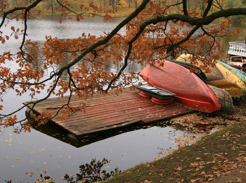 """фото """"Конец навигации"""" метки: пейзаж, осень"""