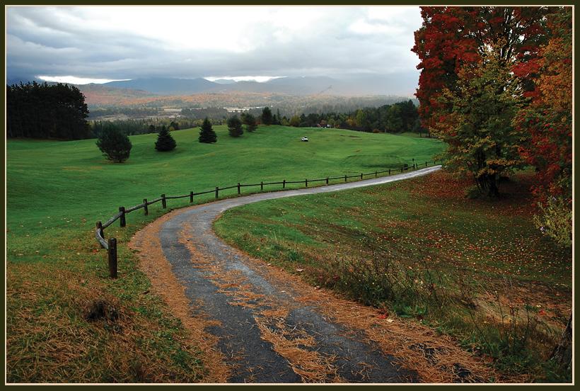 "фото ""Осенней порой.."" метки: пейзаж, лес, осень"