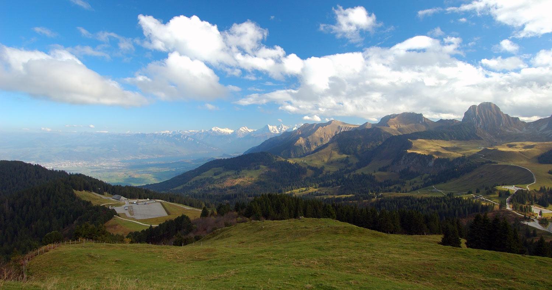 """фото """"Стоянка для облаков :)"""" метки: пейзаж, горы, осень"""