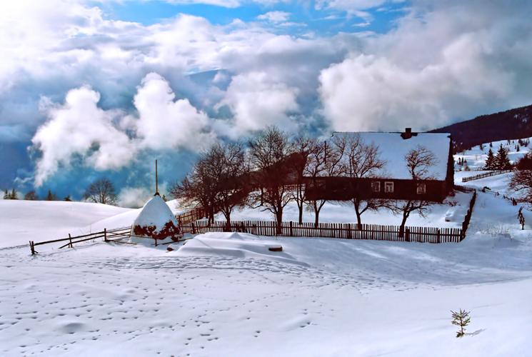 "фото ""transcendental dwelling"" метки: пейзаж, путешествия, зима"