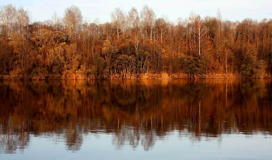 "фото ""Октябрь."" метки: пейзаж, вода, осень"