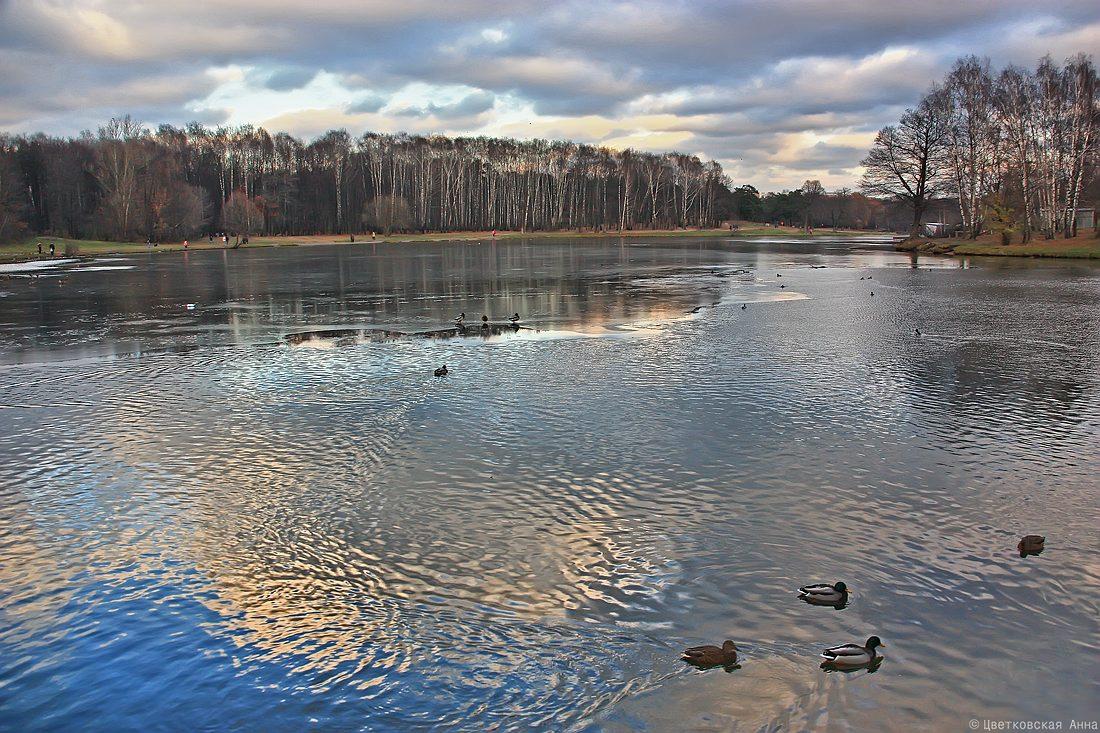 """фото """"вот и осень.."""" метки: пейзаж, вода, осень, отражения"""