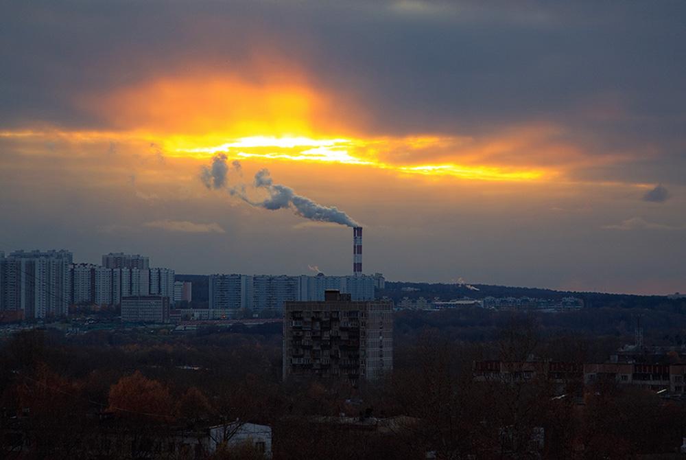 """фото """"Всполохи вечерней зари"""" метки: пейзаж, облака"""