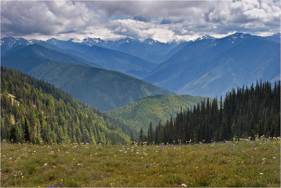 """фото """"Переменная облачность"""" метки: пейзаж, путешествия, горы"""