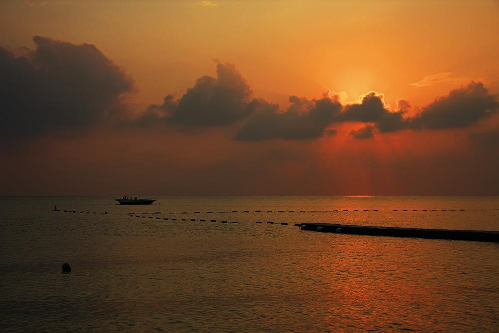 """фото """"Морской восход"""" метки: пейзаж, закат"""