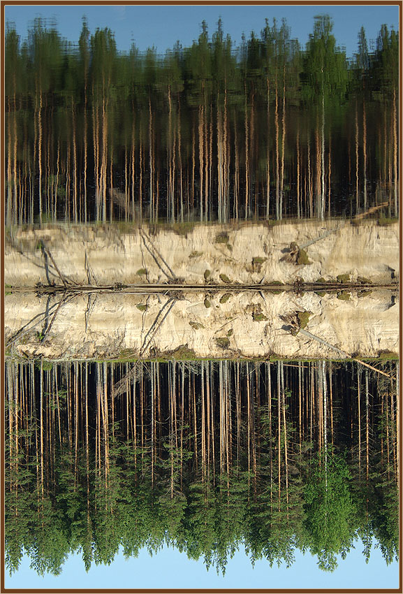"фото ""Зеркало"" метки: пейзаж, вода, лето"