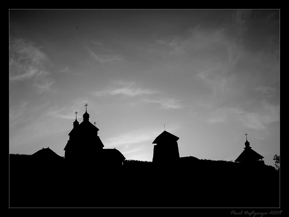 """фото """"Сич Запорожская"""" метки: пейзаж, путешествия, Европа, ночь"""