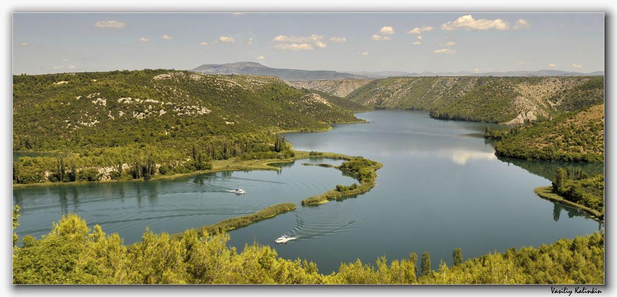 "фото ""Адриатика. Река Кирка. (Хорватия)"" метки: пейзаж, лето"