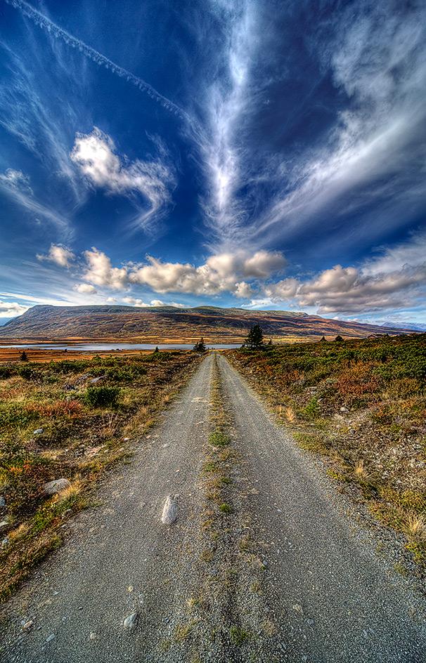 """фото """"The Road....."""" метки: пейзаж, горы, осень"""