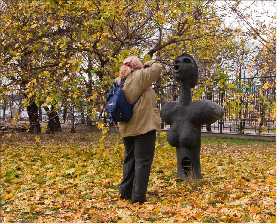 """фото """"Осенний эпизод)..."""" метки: юмор,"""