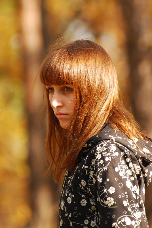 "фото ""Осень..."" метки: портрет,"