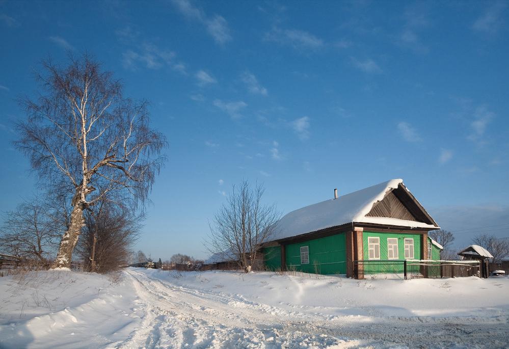 """фото """"Снежные пятнышки"""" метки: пейзаж, зима"""