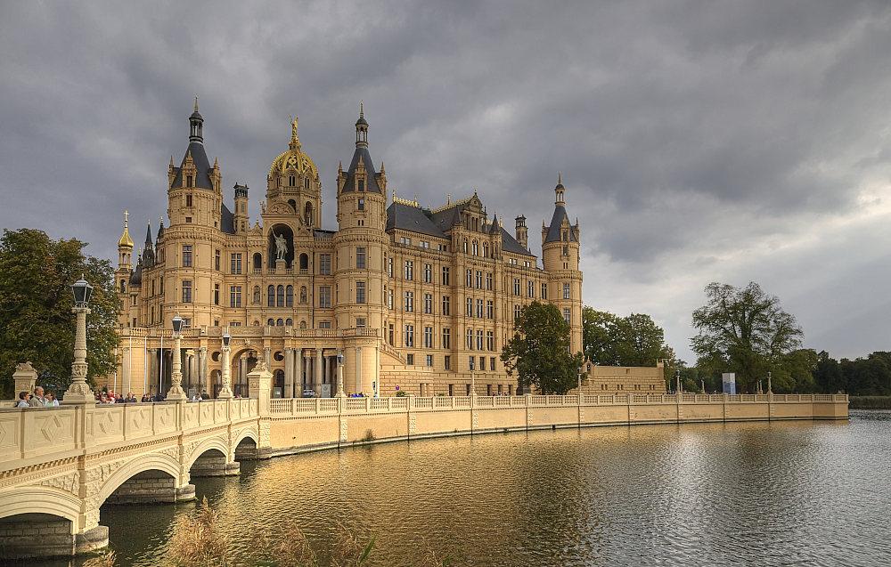 "фото ""Schloss Schwerin"" метки: архитектура, пейзаж,"
