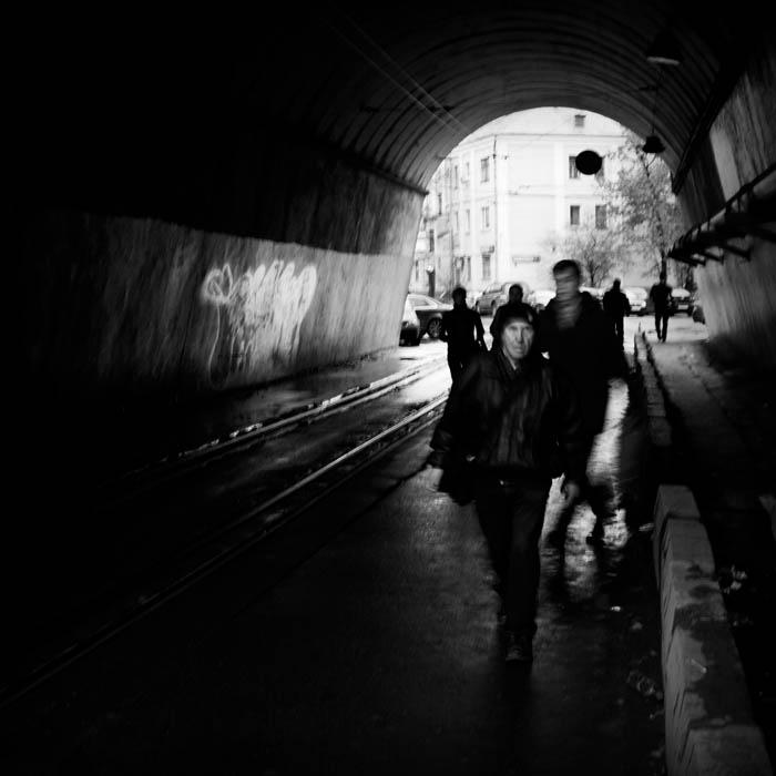 """фото """"Пятница. Вечер"""" метки: стрит-фото, черно-белые,"""