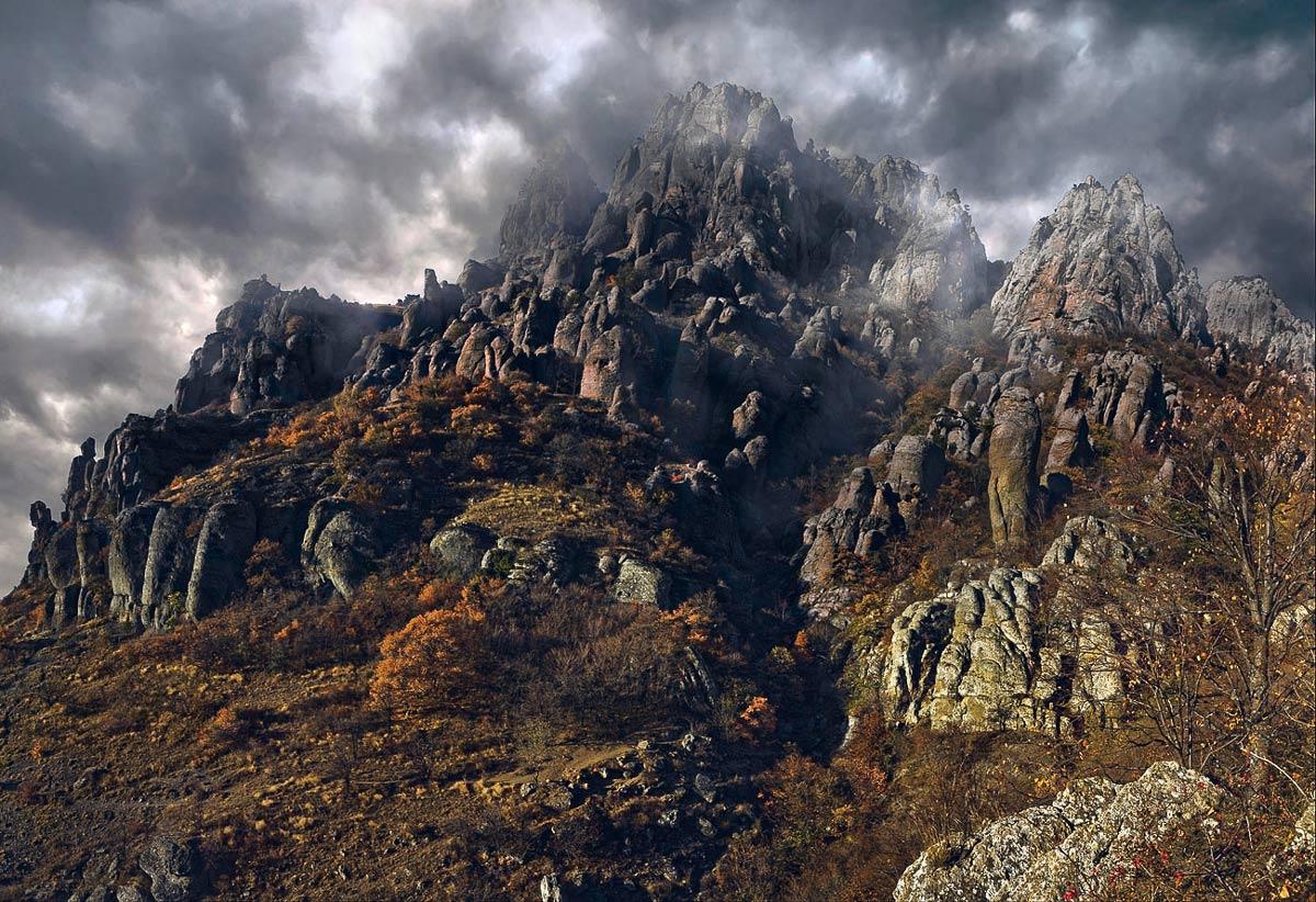 """фото """"Демерджи.Долина приведений."""" метки: пейзаж, горы"""