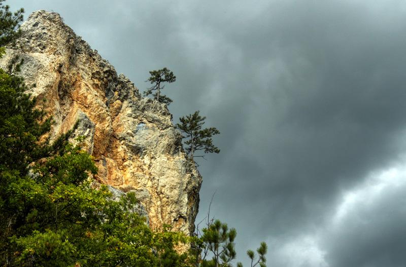 "фото ""Crimean Grand Canyon"" метки: пейзаж, путешествия, горы"