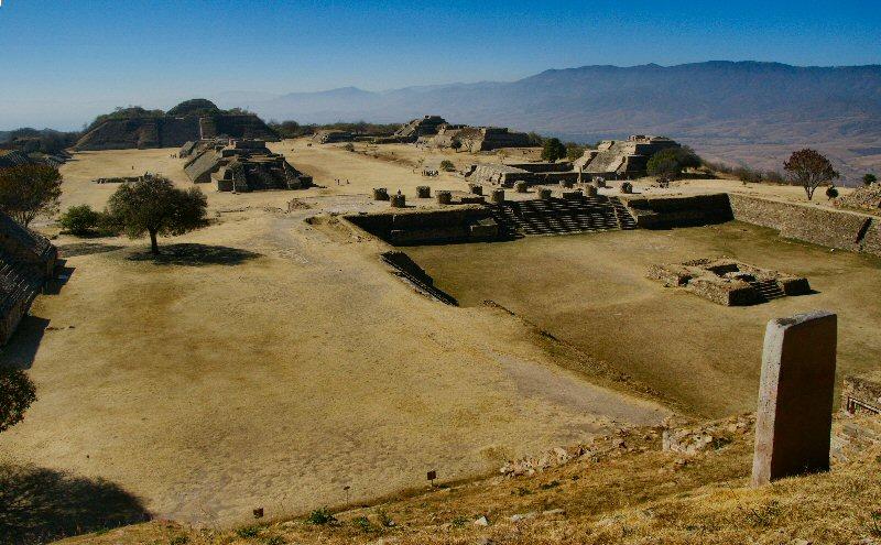"""фото """"Руины Монте-Альбана"""" метки: архитектура, путешествия, пейзаж, Северная Америка"""