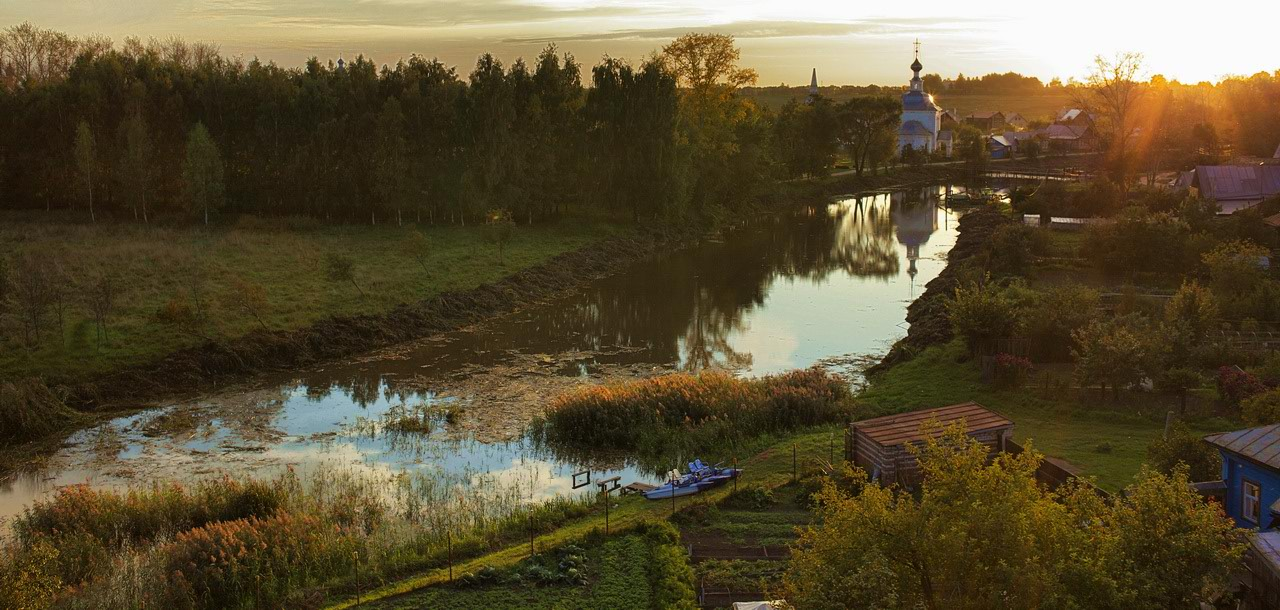 """фото """"Суздальские вечера-4"""" метки: пейзаж, закат"""