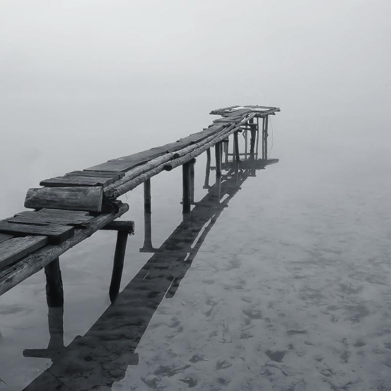 """фото """"Мостик в туман"""" метки: пейзаж, лето"""