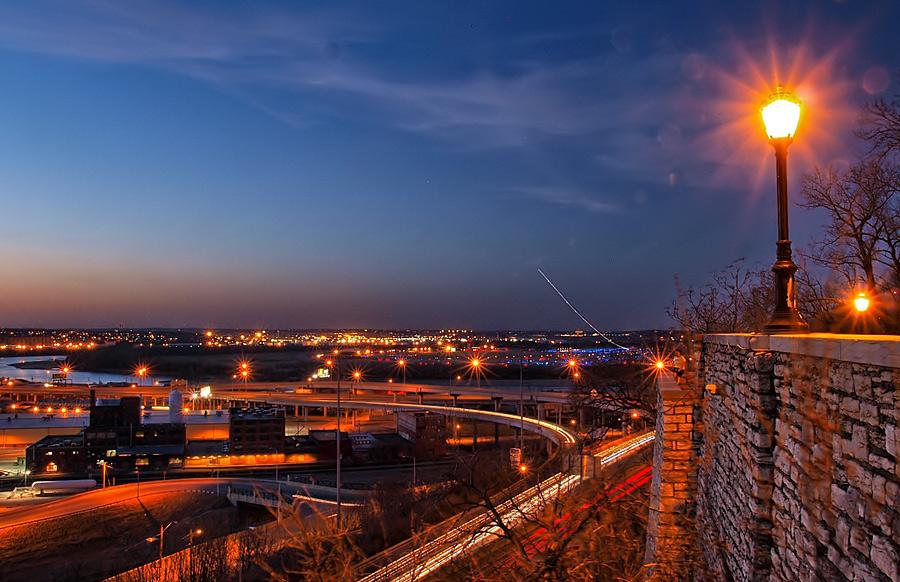 """фото """"..."""" метки: пейзаж, панорама, ночь"""
