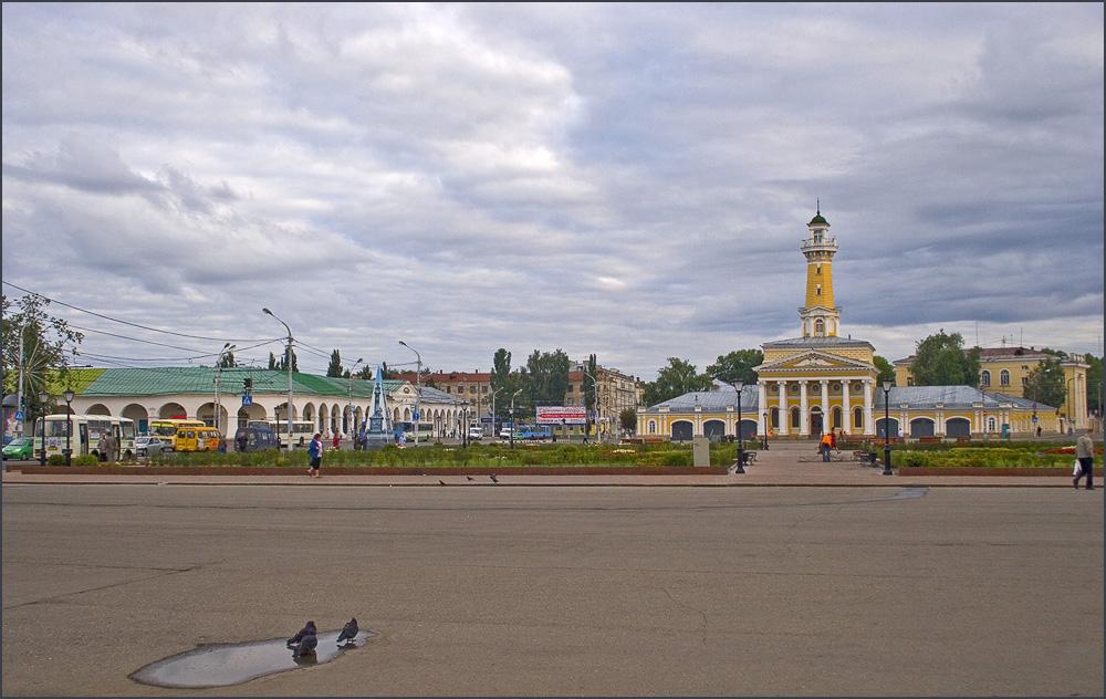 """фото """"Костромская акварелька..."""" метки: город,"""